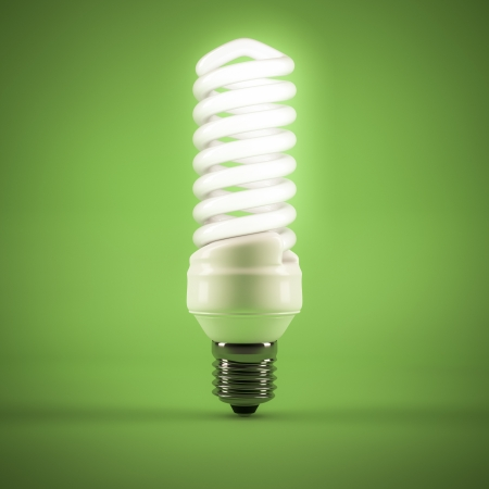 computer generated image of a Fluorescent lamp photo