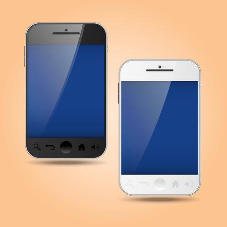 visualisation: Smart phone vectorial templates Illustration