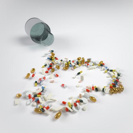 hartvormige pillen