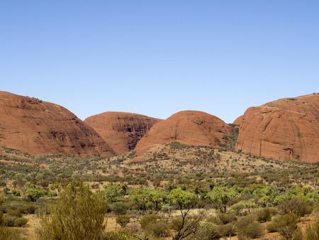 olgas: Kata Tjuta Australia national park Stock Photo