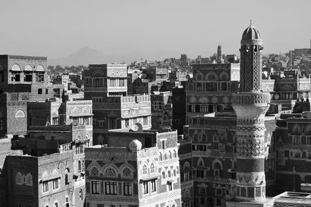 Typical yemeni architecture, Sanaa (Yemen).