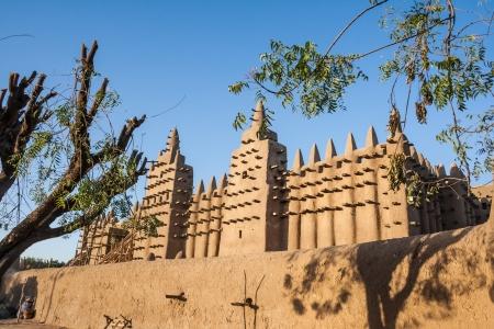 A Nagy Mecset Djenn Mali, Afrika