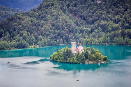 Nézd meg a Bled-szigetre Bledi vár, Bledi-tó, Szlovénia