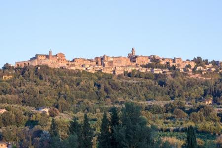 Panorama of Montepulciano