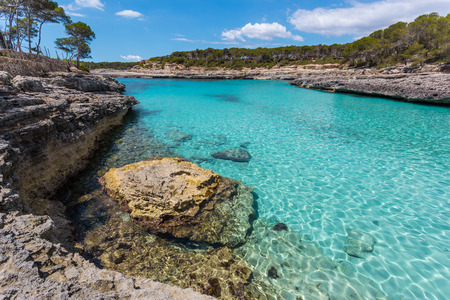 The Mondrago Natural Park is one of favorite places on Mallorca. It is located in the southeast, close to Santany. The park is famous for the unbelievable turquoise blue sea.