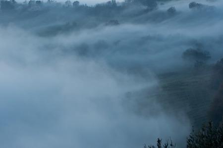 nebbia: haze Stock Photo
