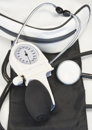 Machine for check blood pressure device photo