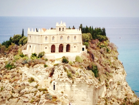 wonderfull: Una iglesia maravillosa de Tropea - Calabria Foto de archivo