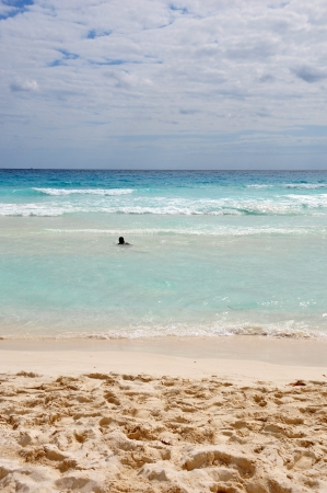 cancun beach photo