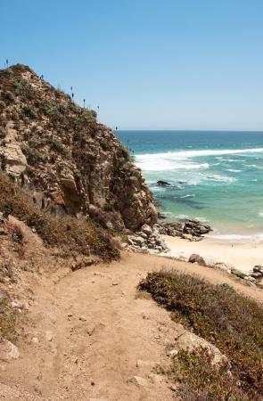 tunquen beach in chile Stock Photo