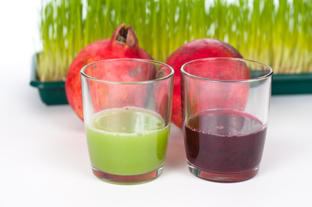 red pomegranade juice one of the most antioxidant