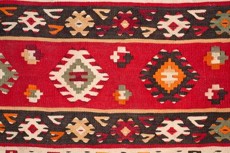 a beautiful and colored turkish kilim