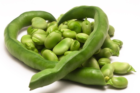 groping: Green beans composition to heart 02
