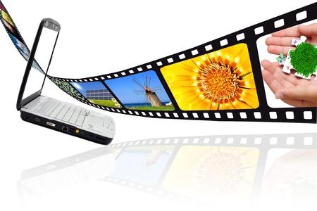 Movie film Bilder und PC