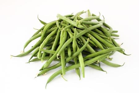 Mound of green beans Stock Photo