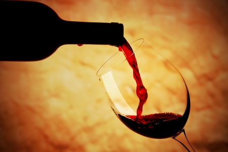 Glass of red wine Stock Photo - 16255906