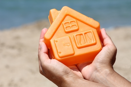 House by the sea Stock Photo - 17597485