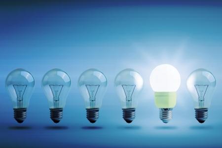 Concetto di Energia rinnovamento Stock Photo