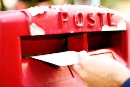 consignor: Mailbox 6 Stock Photo