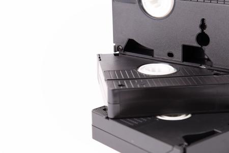 Digitize old cassettes Stock Photo