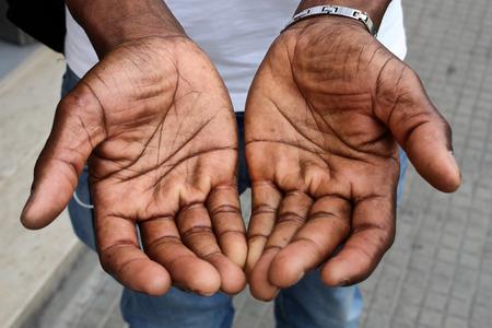 pobreza: Concepto de bienvenida