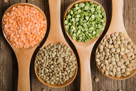 Variety lentils and peas 2