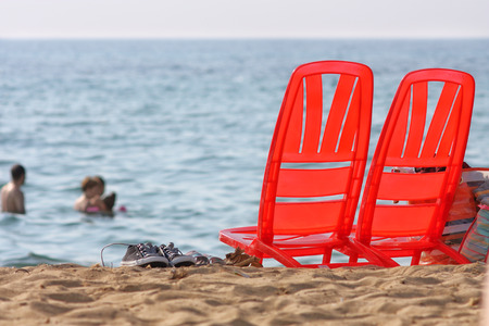 sea ??and summer holidays Stock Photo