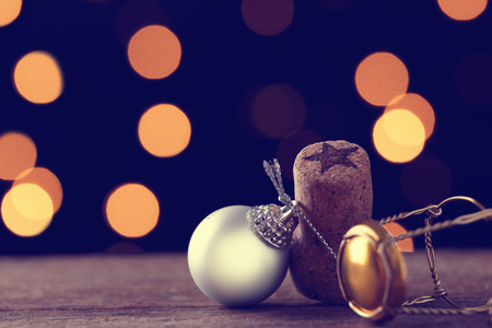 Objects and ornaments of Christmas