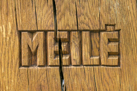Meile, love in Lithuanian language