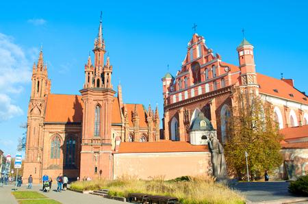 Gothic church of Saint Anne and Saint Francis Church of Saint Francis and Saint Bernard (also known as Bernardine Church)