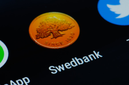 Swedbank app for smarthphone Redakční