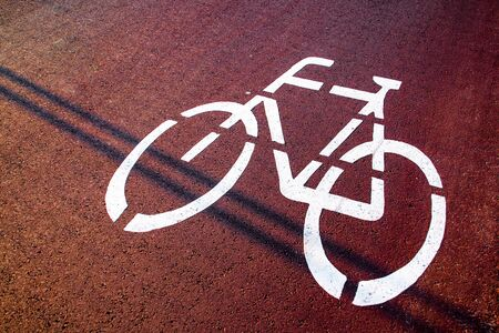 Bicycle traffic signal, road bikes, free bike areas or areas, bike sharing, healthy and safe life Reklamní fotografie