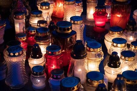 Candles and lanterns Reklamní fotografie