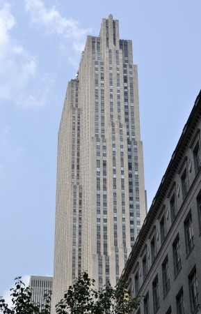 Skyscraper characteristic of New York