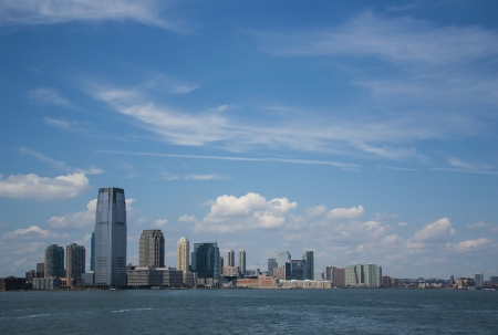 liberty island: View from Liberty Island