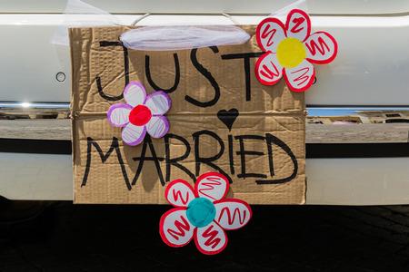 net getrouwd: Just married