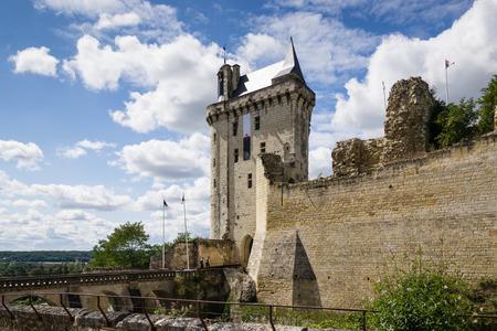 chinon: Castle of Chinon - France