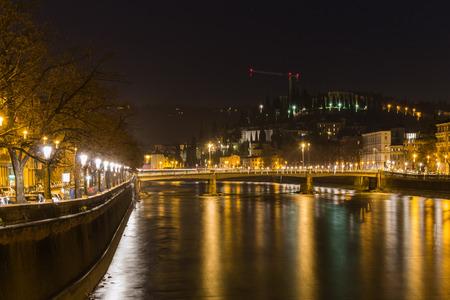 verona: Verona at the night - Italy