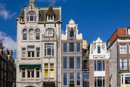 netherlands: Urban landscape of Amsterdam Netherlands