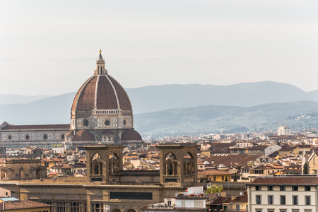 fiore: Cathedral of Santa Maria del Fiore - Florence - Italy Stock Photo