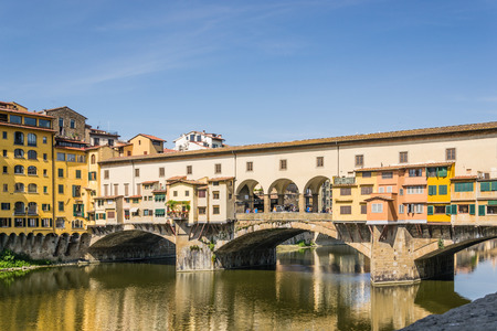 old bridge: Old bridge in Florence - Italy Editorial