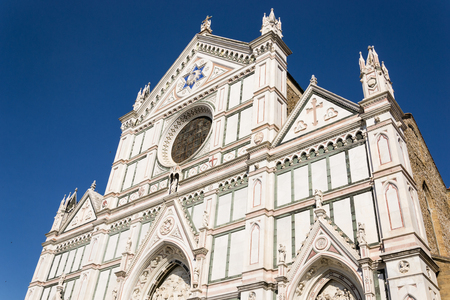 romanesque: Cathedral of Santa Croce in Florence - Italy