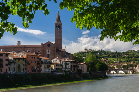 verona: Church of Santa Anastsia - Verona