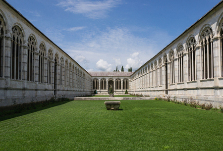 monumental cemetery: Monumental cemetery in the square of Miracles - Pisa - Italy