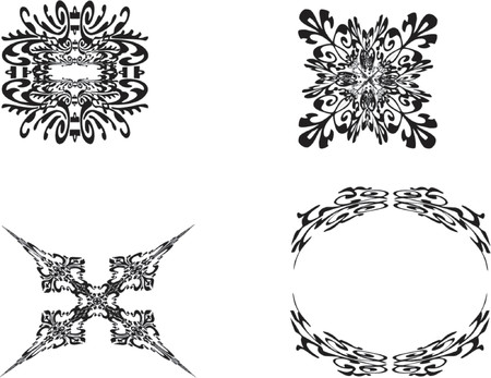 ornamental vector illustrations Illustration