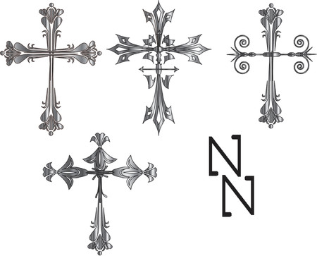 croce celtica: croce celtica illustrazioni vettoriali