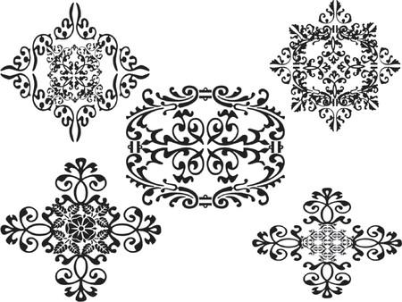 vector illustration ornaments