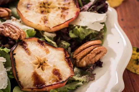 bounty: Grilled apple pecan salad