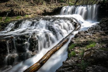 川滝滝 写真素材