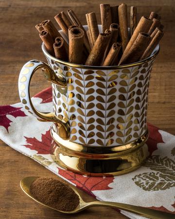 Cinnamon - Royalty of Autumn Baking Reklamní fotografie